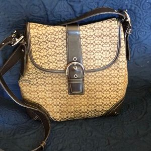 Coach Purse- wear as a shoulder bag or crossbody!